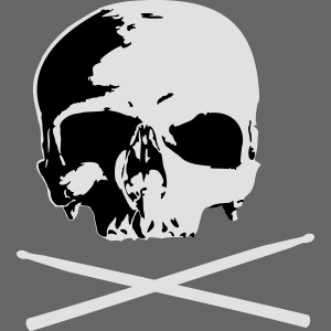 skull and sticks