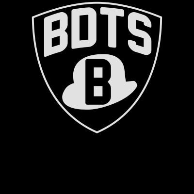 BDTS - BDTS-Schriftzug für Aschaffenburger Lokal-Patrioten im Brooklyn-Nets-Stil - Nets,Melone,Hut,Gangster,Bandits,Banditen,Aschaffenburg,Aburg