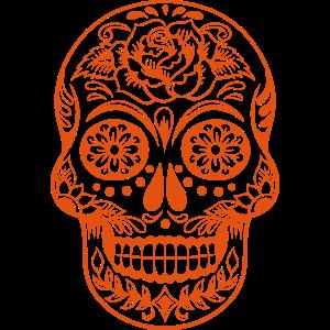 Mexican Skull Rose 2