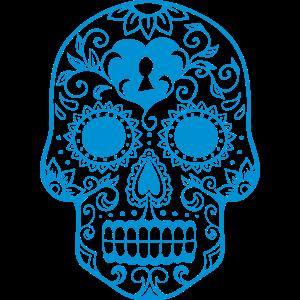 Mexican Skull Herz b