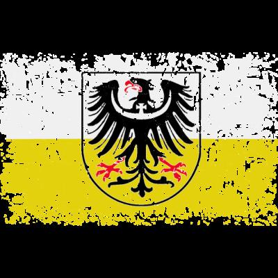 Schlesien - Das ist doch mal eine abgefahrene Variante zum Thema Schlesien, -ultra cooler Very Vintage Look. Einzigartig bei Spreadshirt.... - b Wappen von Schlesien,Schlesischer Greif,Schlesischer Adler,Schlesien,Polen,Görlitz,Flahne von Schlesien,Flaggen,Flagge von Schlesien,Breslau