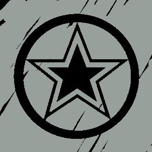 STAR CIRCLE VECTOR