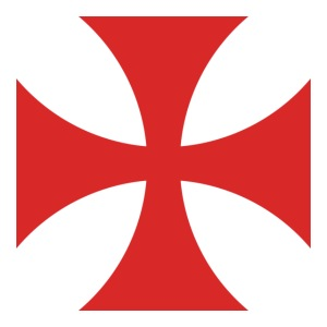 2000px Cross Pattee red svg png