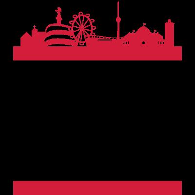 STGT 0711 - Einprägsames Motiv der schönen Stadt Stuttgart mit Skyline! STGT 0711 FOREVER - stuttgart,stoerfucktor,stadt,schlossplatz,fußball,Wasen,Volksfest,STGT,Cannstatt,0711
