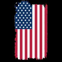 Eroded USA Flag