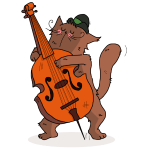 Mrou et jazz contrebasse