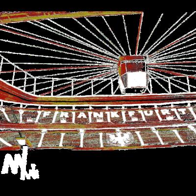 Arena Frankfurt - Die Wunderschöne frankfurter -Arena als Motiv für dich! - Waldstadion,Skyline,Main,Fußball,Frankfurt,Arena