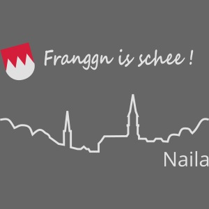 Franggn Naila klein rot weiß