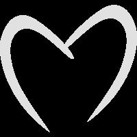 Love Seetal - Herz weiss