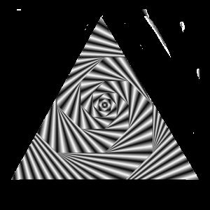 Triangel Optical Illusion