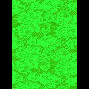 Phone Cover Pattern Lace - Grün