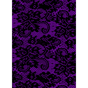 Phone Cover Pattern Lace - Violett