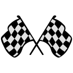 Karierte Racing Flags