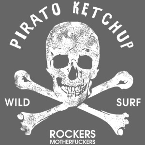 Pirato Ketchup White Skul