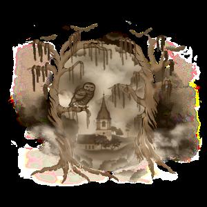 Skull (für braune Shirts)