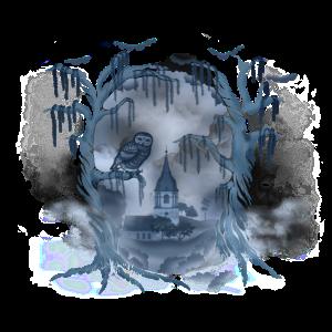 Skull (für blaue Shirts)