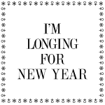 x-mas tryck svart