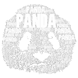PANDA als Wort
