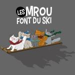 Les chats Mrou font du ski