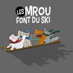 Les Mrou font du ski