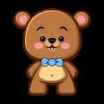 Brown Bear Boy - Kawaii