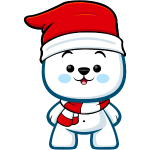 Polar Bear Boy Christmas