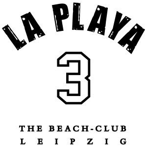 LA PLAYA Zahl Rücken Strand Shop