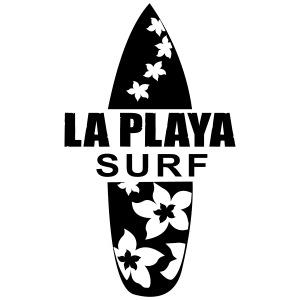 Surfbrett La Playa T-Shirts