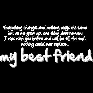 My best friend (dark)