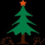 Igel und Maus Weihnachten