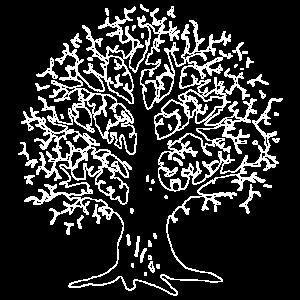 The Tree (weiße Kontur)