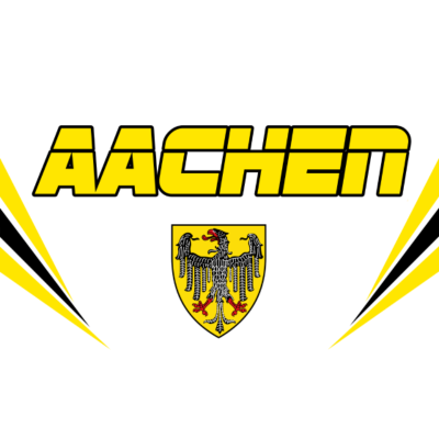 Aachen Vector - Aachen Vector - Schwarz Gelb,Nordrhein-Westfalen,Köln,Alemania,Aachen