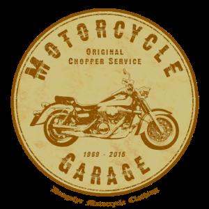 Motorcycle Garage (brown) | Dragefyr