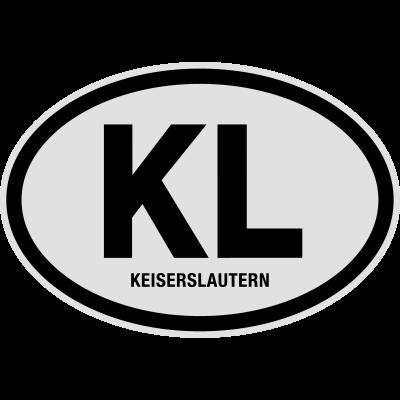 KL Kaiserslautern - KL Kaiserslautern. Lustiges T-Shirt von shirtrecycler. Fun, toll, geil, heiß, JGA, Karneval, Liebe, sexy, süß, niedlich, cool, Bestseller, Geburtstag, Fasching, Hochzeit, Spass, Sprüche, Party, Urlaub, Schule, Reise, Ferien, versaut, verrückt, lustige Motive - Stadt,Rheinland-Pfalz,Nummernschild,Kreis,Kennzeichen,Kaiserslautern,KL,KFZ-Kennzeichen,Deutschland,Auto Kennzeichen