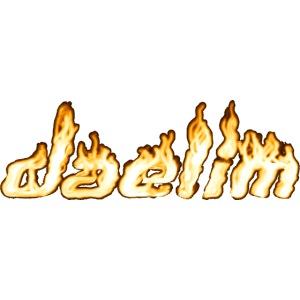 Heißer Daelim Schriftzug