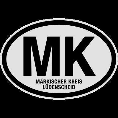 MK Märkischer Kreis Lüdenscheid - MK Märkischer Kreis Lüdenscheid. Lustiges T-Shirt @shirtrecycler. Auto Kennzeichen, Deutschland, KFZ-Kennzeichen, Kennzeichen, Kreis, MK, Märkischer Kreis Lüdenscheid, Nordrhein-Westfalen, Nummernschild, Stadt, shirtrecycler, lustig, lustige - Stadt,Nummernschild,Nordrhein-Westfalen,Märkischer Kreis Lüdenscheid,MK,Kreis,Kennzeichen,KFZ-Kennzeichen,Deutschland,Auto Kennzeichen