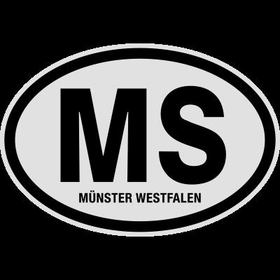 MS Münster Westfalen - Finde bei Shirtrecycler Dein Geschenk mit heißen Sprüchen und tollen Aufdrucken. Nutze lustige Sprüche und geile Motive für coole Outfits - für Urlaub, Party und JGA. Gestalte Dein T-Shirt und feier. - Stadt,Nummernschild,Nordrhein-Westfalen,Münster Westfalen,MS,Kreis,Kennzeichen,KFZ-Kennzeichen,Deutschland,Auto Kennzeichen