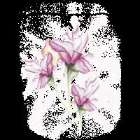Wasserfarbe Lilien Tattoo