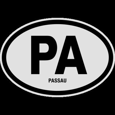 PA Passau - PA Passau. Lustiges T-Shirt @shirtrecycler. Auto Kennzeichen, Bayern, Deutschland, KFZ-Kennzeichen, Kennzeichen, Kreis, Nummernschild, PA, Passau, Stadt, shirtrecycler, lustig, lustige - Stadt,Passau,PA,Nummernschild,Kreis,Kennzeichen,KFZ-Kennzeichen,Deutschland,Bayern,Auto Kennzeichen