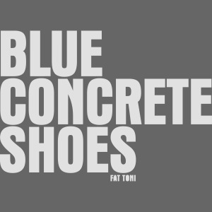 BlUE CONCRETE SHOES