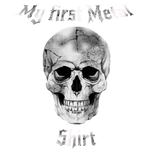 my first metal shirt