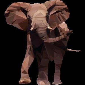 Elefant Polygon