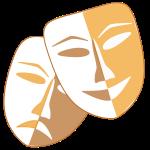 Masken zu Fasching
