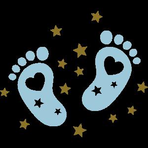 Baby Babyfüße Schwangerschaft Babybauch babyfüße