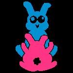 Kamasutra-Häschen / kamasutra rabbits (C, 2c)