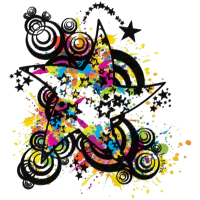 Dancing Star (Colour Splash) 01