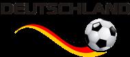 Fan-Shirt: Fussball DEUTSCHLAND