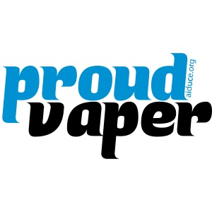 proud vaper blue