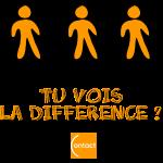 Tu vois la différence ? (Noir)