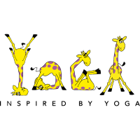 Power Yoga Giraffe - Inspired by Yoga (whiteline)